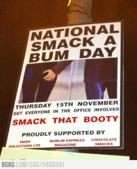 National-smack-a-bum-day