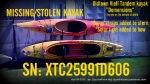 """SN: XTC25991D606 Oldtown """"Dimensions"""" Vie II Tandem kayak"""